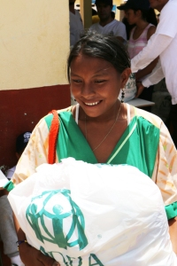 ADRA Colombia entregó 2,604 mercados que beneficiarán a 13.020 personas de la comunidad Wayuu en La Guajira