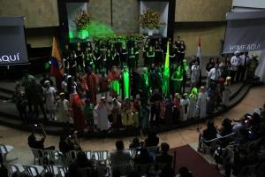 """En la Universidad Adventista de Colombia, en Medellín se inauguró el 3 de agosto el la inauguración del Congreso Internacional """"I will go too 2.0"""" [Foto: Camilo Rodríguez]"""