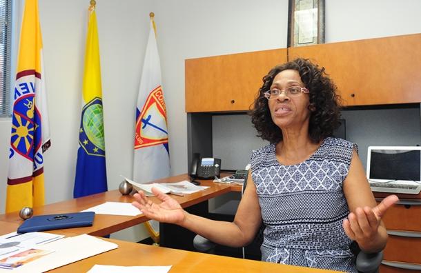 Louise Nocandy, directora asociada de ministerios jóvenes de Interamérica, dice que se espera que el Camporí de Conquistadores del año que viene en todo el territorio reúna a cerca de veinte mil personas en Santo Domingo, República Dominicana. Imagen de Libna Stevens/DIA