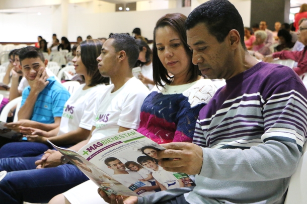 La revista Más Bienestar, es una iniciativa adventista saludable de la División Interamericana [Foto: Camilo Rodríguez]