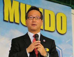 Jiwan Moon, director de Ministerios a Estudiantes Adventistas de Universidades Públicas de la Iglesia Adventista mundial. [Foto: Shirley Rueda]