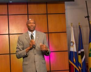 El pastor Balvin Braham, asistente del presidente de la División Interamericana y coordinador del SeLD. [Imagen de Libna Stevens/DIA]