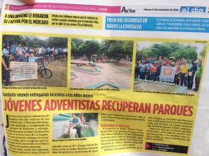 Diario local destaca la acción solidaria de los adventistas en La Guajira
