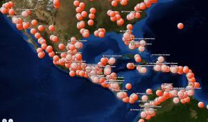 Unos 280 lugares se conectaron desde diversas partes del mundo durante la capacitación en línea del programa SeLD. [Imagen de la División Interamericana]